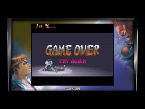 Street Fighter 30th Anniversary Game Over |