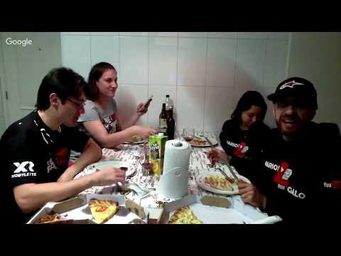 PIZZA, VINHO E BESTEIROL! LIVE MARIO 7 GALO E DRFAZTUDO.