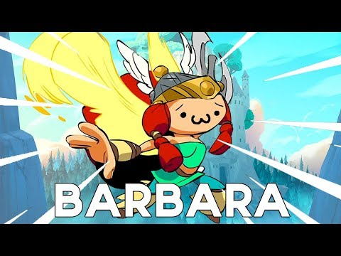 You MUST buy this crossover skin! (Brawlhalla Barbara Gameplay)