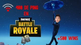 WERDEN SIE MIT BAD CONNECTION GEWINNEN? (+505 SIEGE) FORTNITE Battle Royale
