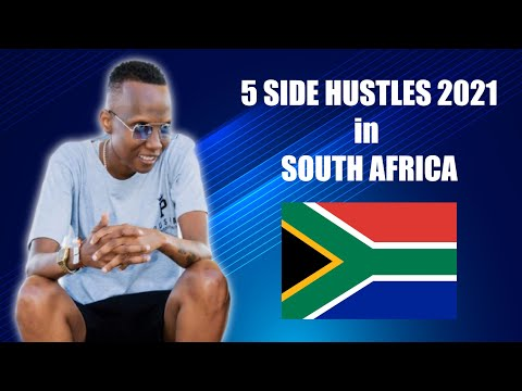 5 SIDE HUSTLES (2021) How to make money  in South Africa