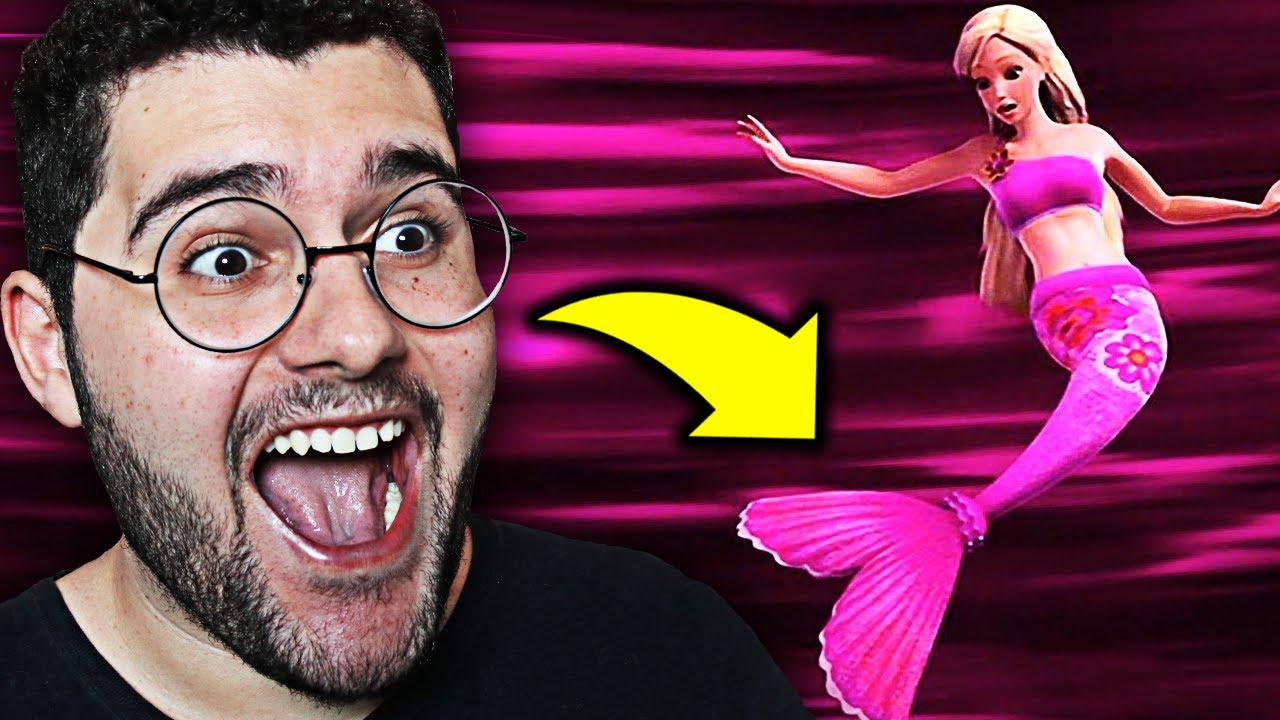 Assisti Barbie Vida De Sereia E Olha No Que Deu Youtube