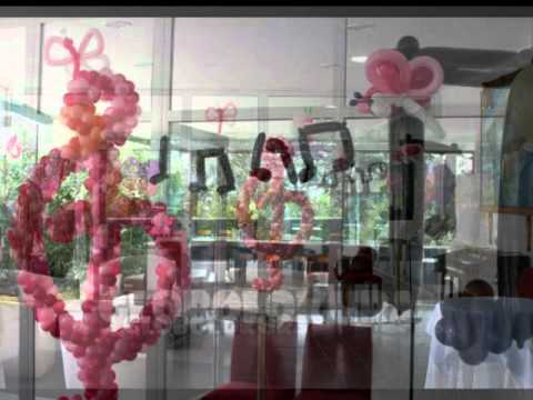 Comuni n mariposas musical con globos youtube - Decoracion con mariposas ...