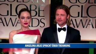 Angelina Jolie spricht über Trennung