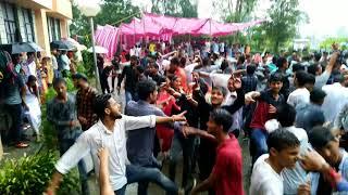 College Students Dancing In Rain Haye meri kangana Rgmc joginder nagar
