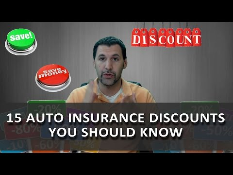 15 Insurance Discounts You Need To Know
