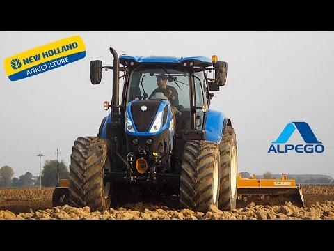 NEW Model | New Holland T7.190 & Alpego DG 500 | Tillage | Erpicatura