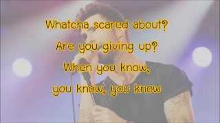 Coming Back For You - Maroon5 Lyrics
