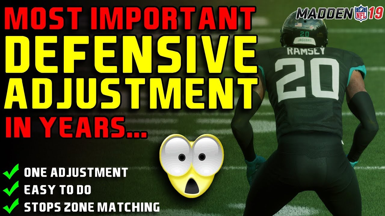 MOST IMPORTANT Tactic on Defense in Madden | MUST SEE VIDEO