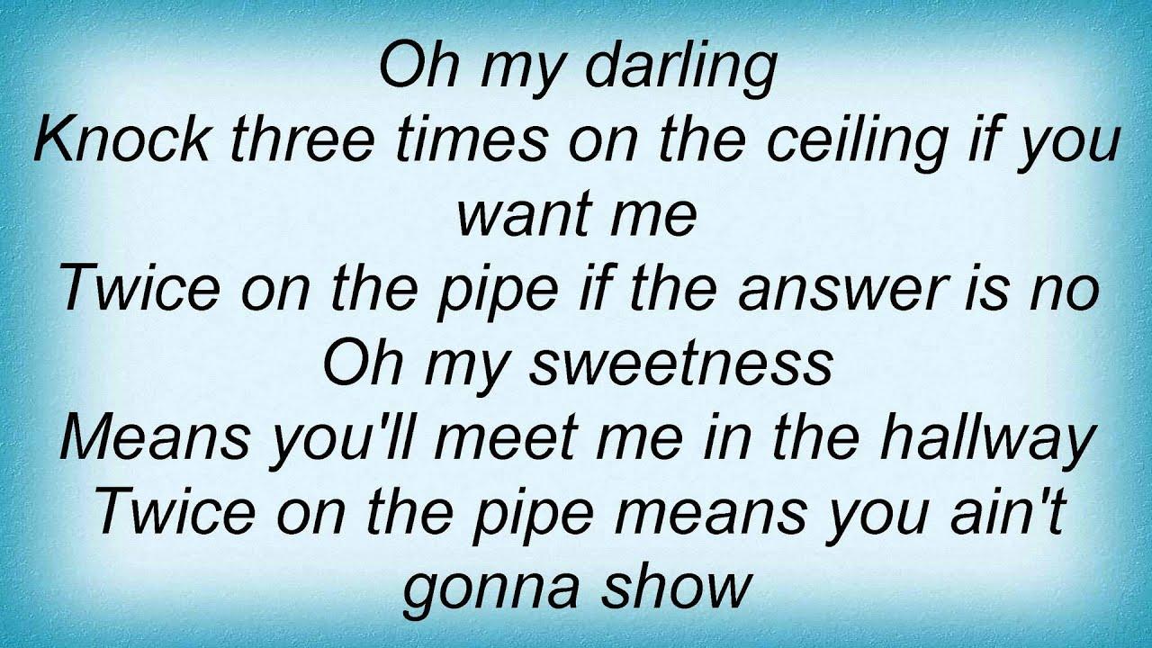 knock three times on the ceiling | www.lightneasy.net