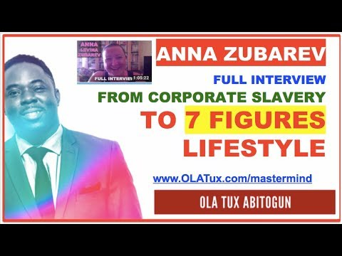 Anna LevineZubarev went from corporate slavery to 7 figure stay at home mom  Full