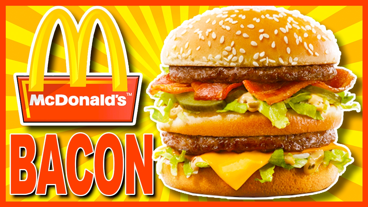 McDonald's ♥ BACON BIG MAC ♥