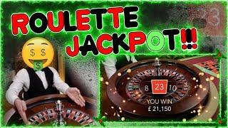 £50,000 ROULETTE JACKPOT!!!!