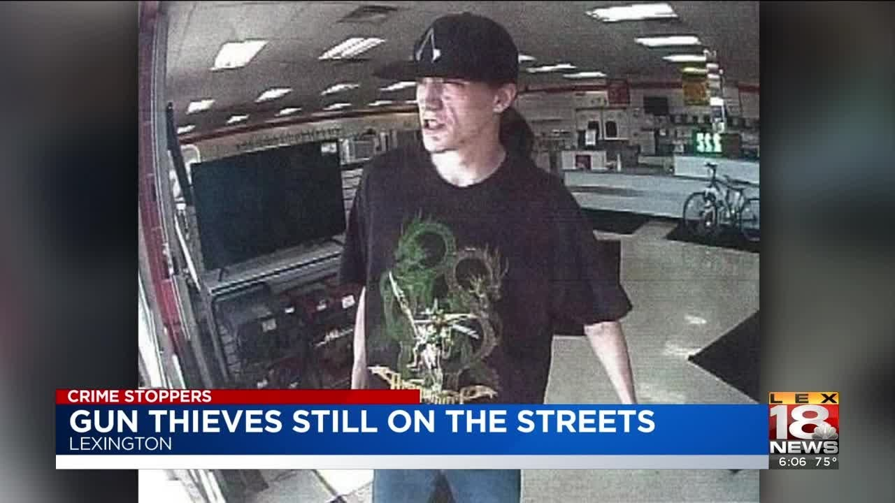 Crime Stoppers: Police Searching For Gun Theft Suspects