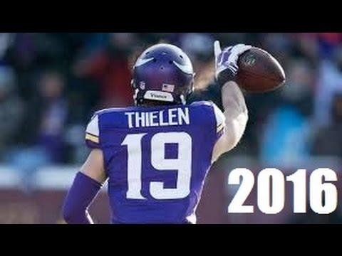 Adam Thielen 2016 Minnesota Vikings Highlights