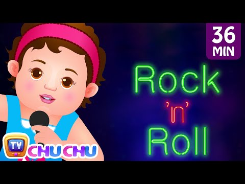 Видео, Wheels On The Bus and Many More Nursery Rhymes Karaoke Songs Collection  ChuChu TV Rock n Roll