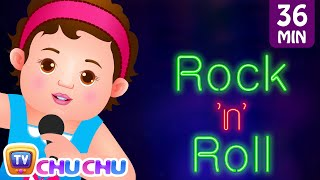 wheels on the bus and many more nursery rhymes karaoke songs collection   chuchu tv rock n roll