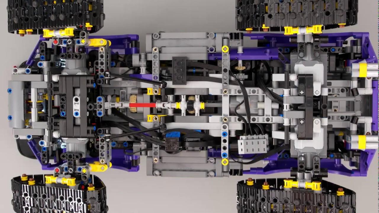 Lego Technic 42069 Extreme Adventure Rc Mod Partial Building