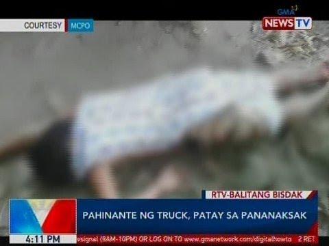 BP: Pahinante ng truck, patay sa pananaksak sa Mandaue City, Cebu
