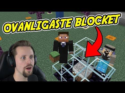 OVANLIGASTE BLOCKET I MINECRAFT  Lets Play S4E40 med SoftisFFS