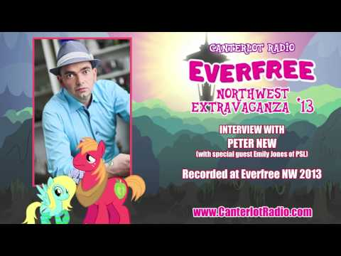 Peter New Interview - Everfree Northwest 2013 - Canterlot Radio