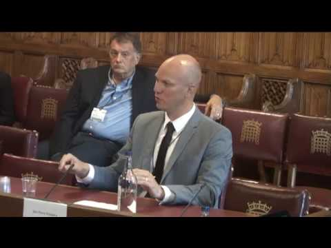 JP Kloppers addresses UK Parliament's House of Lords