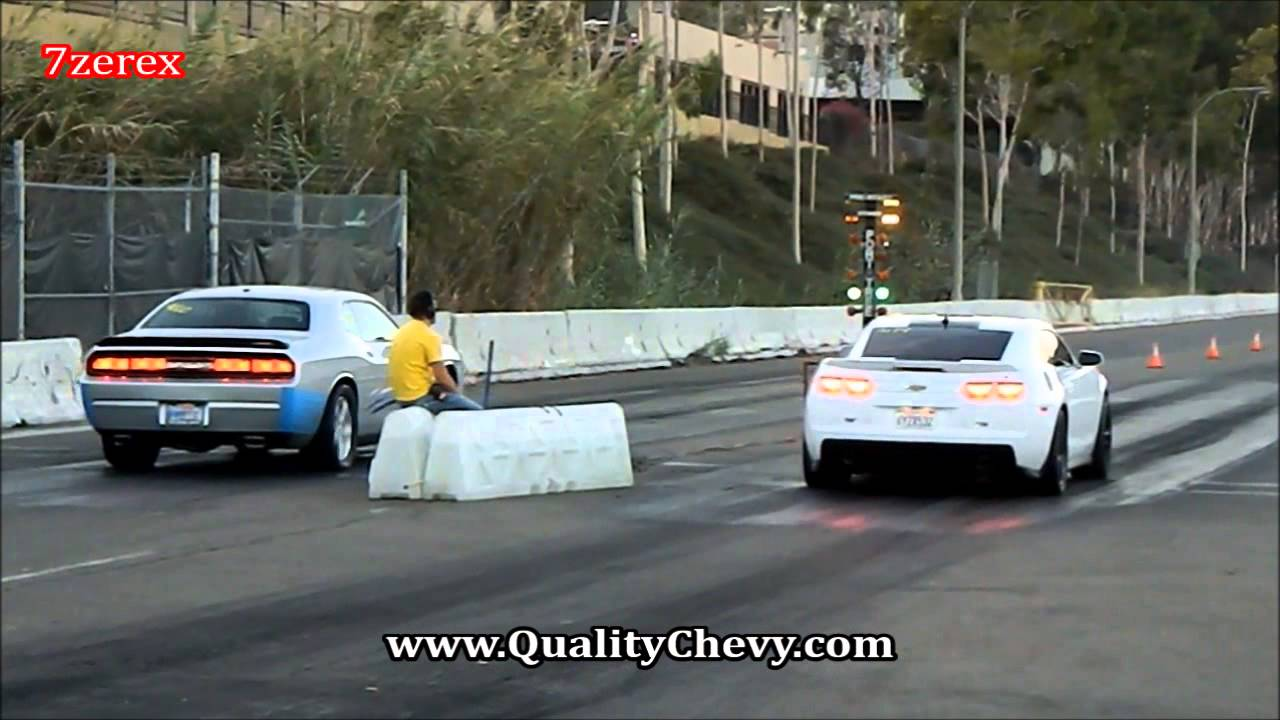 2012 Chevrolet Camaro Zl1 Vs 2008 Dodge Challenger Srt8