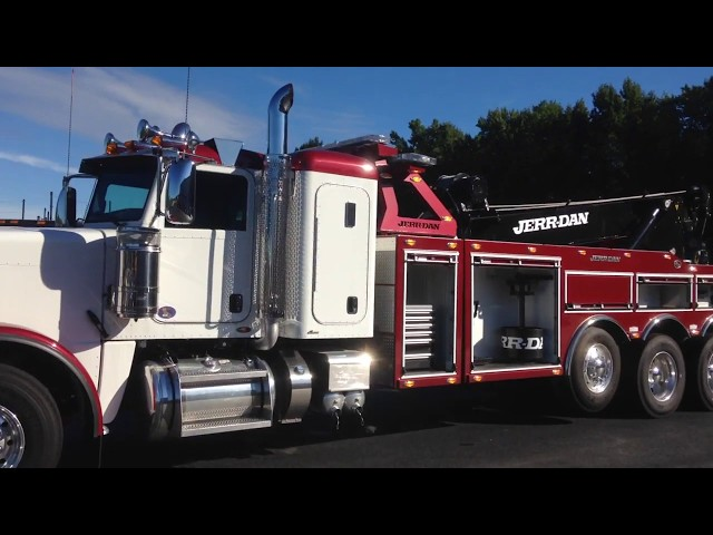 2017 Peterbilt 389 JD 50 ton TriAxle Wrecker Tow & Recovery Truck - Stock #9061