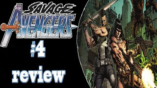 Punisher family - savage avengers #4 (review)