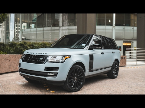 MY FAVORITE SUV - Range Rover Supercharged