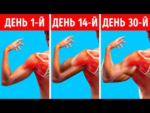 6 быстрых упражнений для мощных плеч