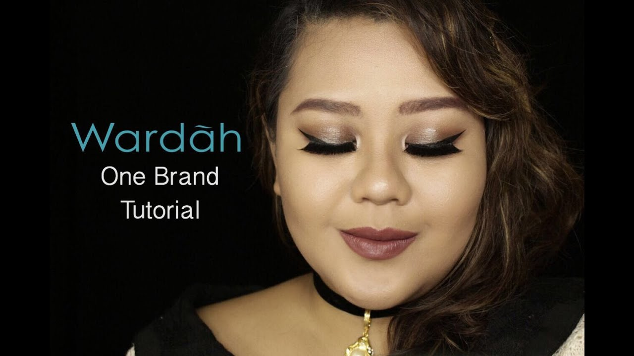 Wardah One Brand Tutorial And Review Dhenok Pratiwi Youtube Double Function Kit Concealar Eye Shadow