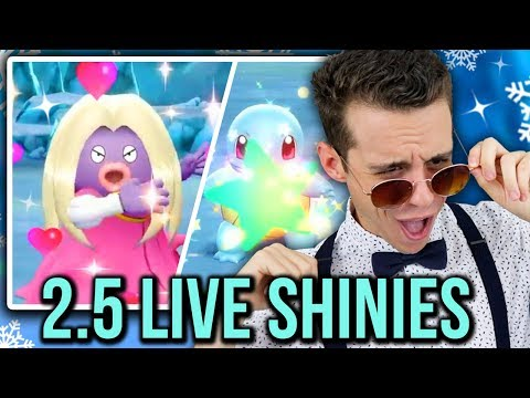 LIVE! GORGEOUS FULL ODDS SHINY JYNX & SQUIRTLE!! + Ridiculous Shiny Fail Scare (Dream team #3)
