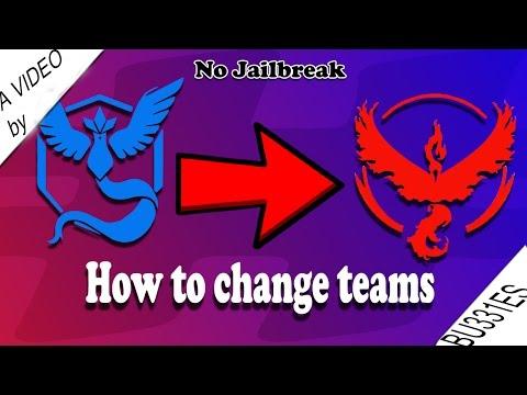 HOW TO CHANGE TEAMS IN POKEMON GO 2016 1.3.0 [WORKING] NO JAILBREAK