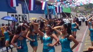 Banda Instituto Nacional Thomas Jefferson Sonsonate 2013 Gonna Fly Now