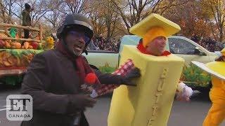 Al Roker Battles 'Butter Man' At Macy's Parade