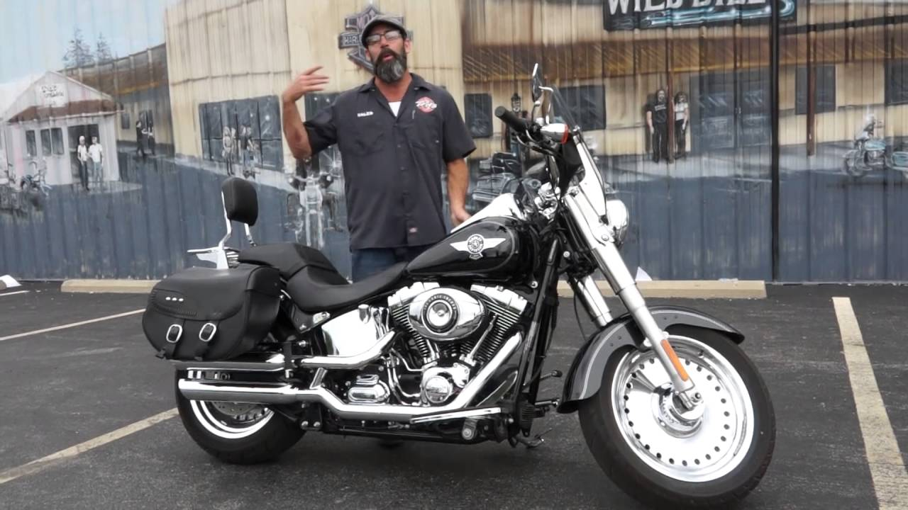 2017 Harley Davidson Fat Boy With Bags Pre Owned Deal