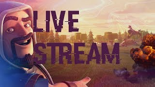 Clash Of Clans Live Stream | Road To max TH 8  Base Reviews, WAR