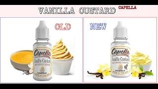 Capella Vanilla Custard - Flavor Review V1 & V2 [Notes and Info]