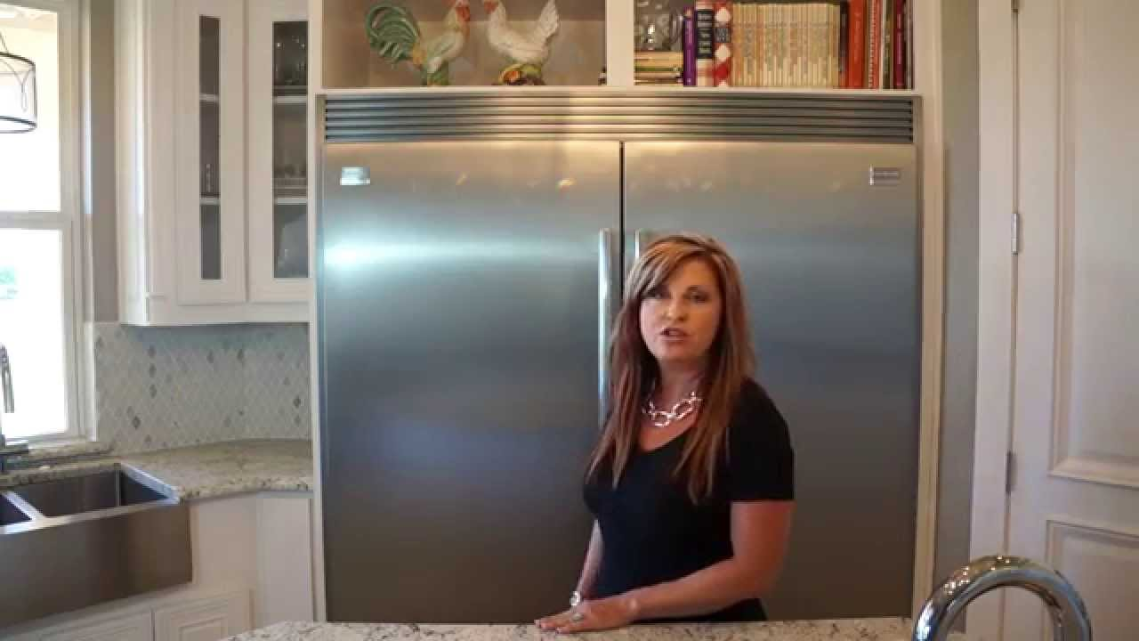 kitchen design side by side refrigerator and freezer youtube. Black Bedroom Furniture Sets. Home Design Ideas