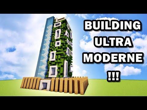 Comment Faire Un Building Ultra Moderne Sur Minecraft Tutoriel
