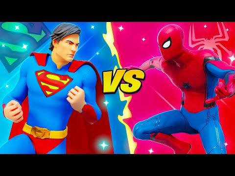 SUPERMAN vs SPIDERMAN (DC vs MARVEL)