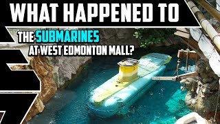 What happened to the Submarine Ride at West Edmonton Mall, Alberta, Canada?