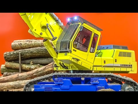 FANTASTIC R/C POWER machines in ACTION! Demolition and more!