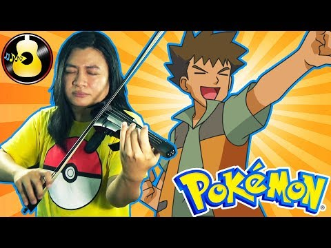 Pokémon Series - Pokemon Gym Theme (Electric Violin Cover) || String Player Gamer