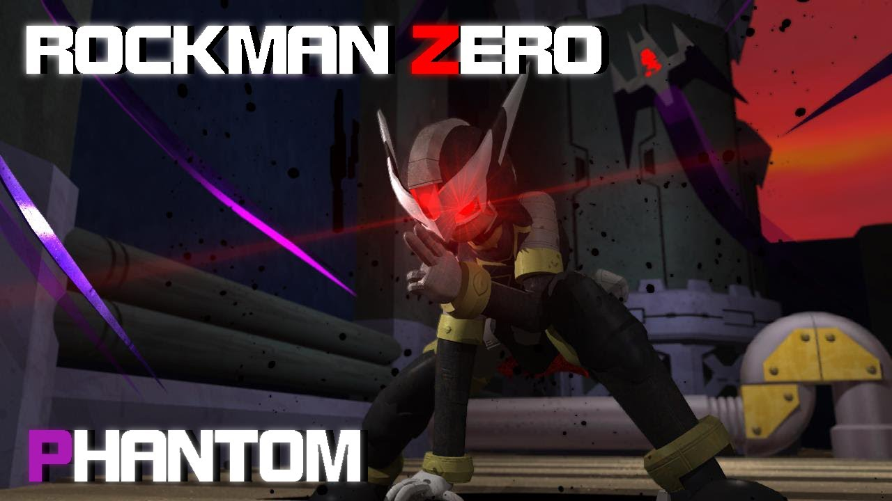 【MegamanZero】隠将ファントム / Phantom【ロックマンゼロ】