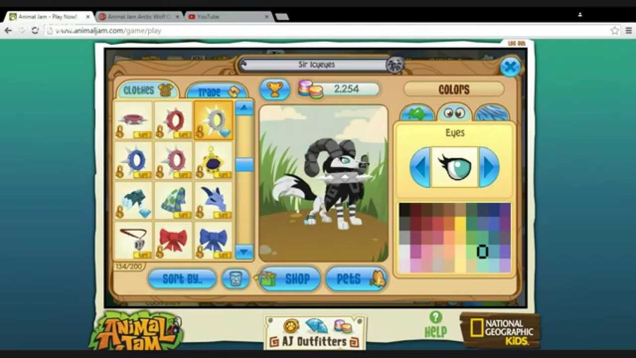 Animal Jam Arctic Wolf Outfits - YouTube