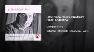 Little Piano Pieces, Children