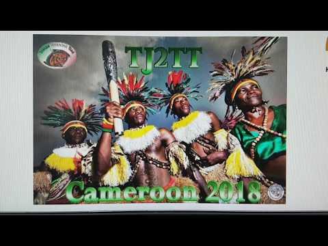 TJ2TT, Cameroon AFRICA, 14MHz, SSB, Worked by HL2WA