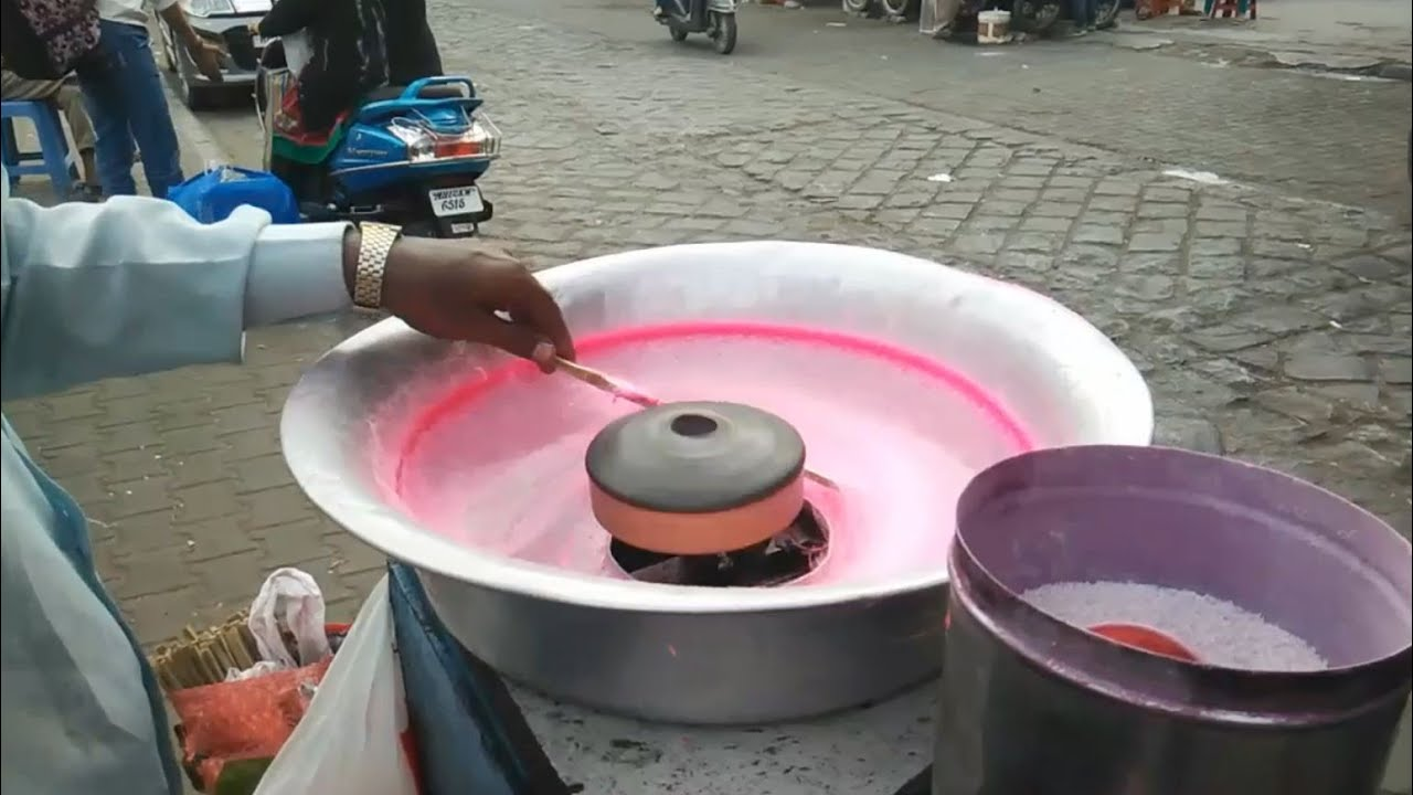 how to clean out a cotton candy machine